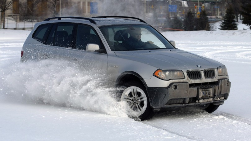 Is it safe to drive on only three winter tires?
