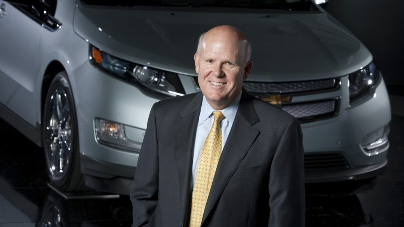 GM CEO predicts 'the sun will be on our backs' in 2013