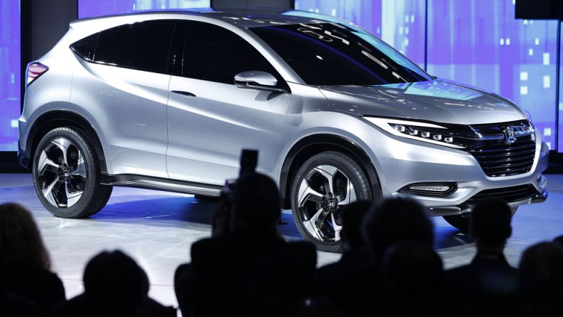 Detroit auto show: Honda offers glimpse of new small SUV