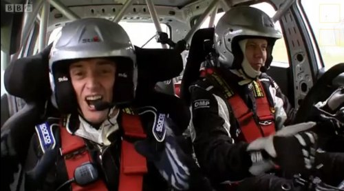 Insider Report: 'Top Gear' pits Rocket Man vs. Rally Car