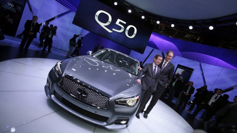 Detroit auto show: Infiniti aims for global reach with new Q50
