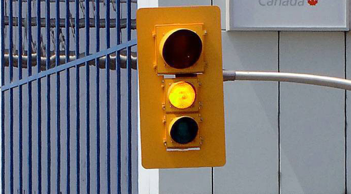 Drivers in China seeing red over new traffic light rule