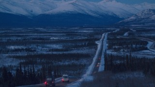 Anchorage to Coldfoot in a Mercedes-Benz Sprinter