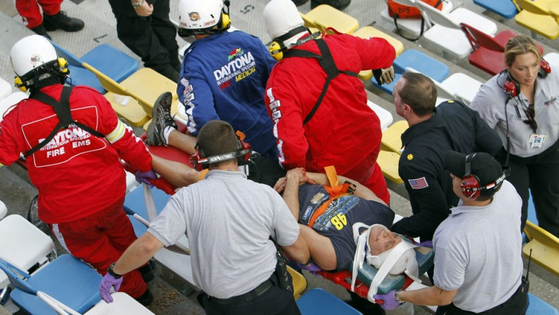 Injured NASCAR fans explore legal options after crash