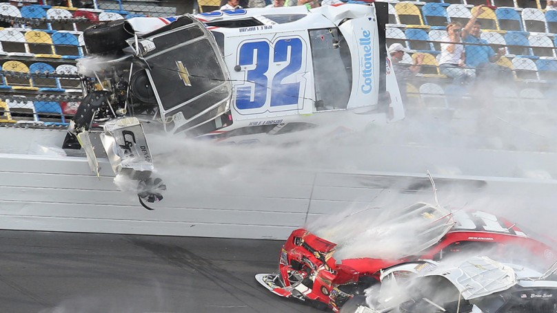 Spectre of horrific crash will follow NASCAR all season