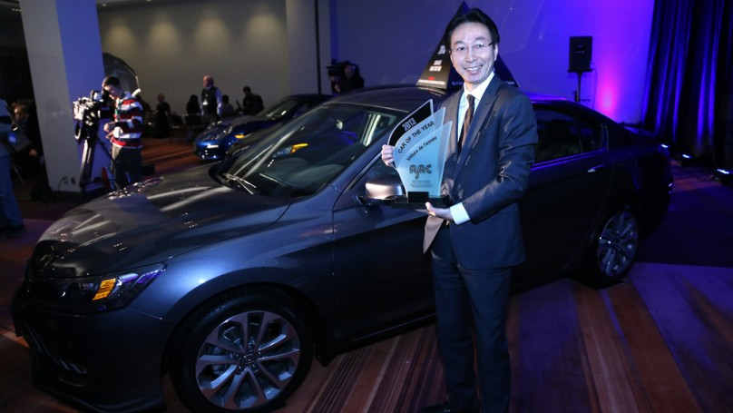 Honda Accord beats Hyundai, Porsche to win Canadian Car of the Year