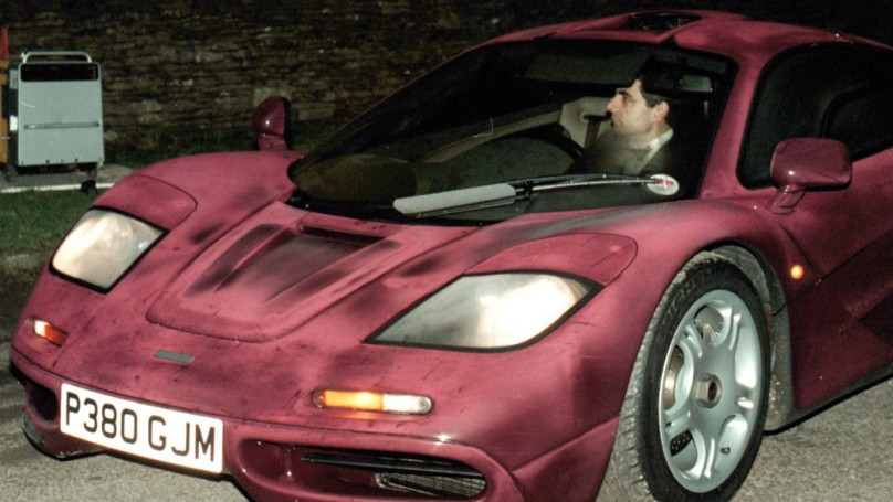 Fixing Mr. Bean's car: It cost a fortune to fix rare McLaren F1