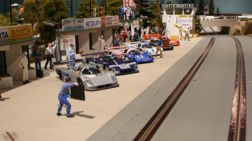 Slot car racing back on track