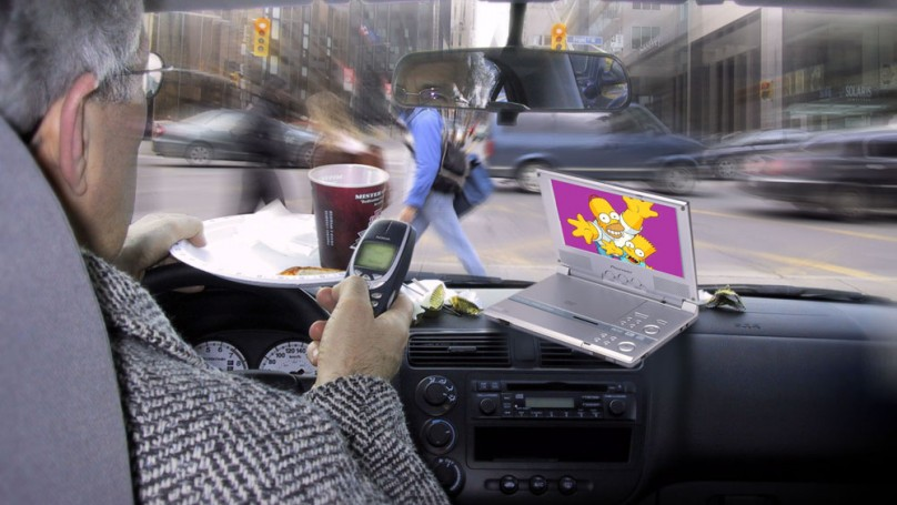 Distracted drivers are on OPP radar