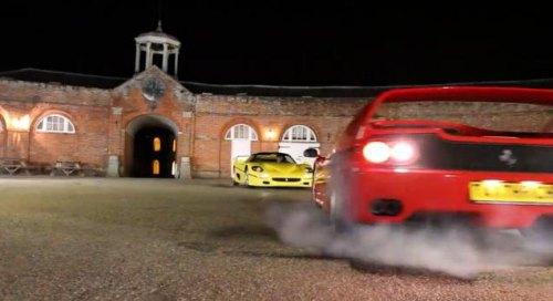 Insider Report: Watch a tug-of-war between two rare Ferraris