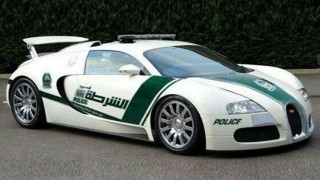 Busted! Dubai's Bugatti cop car <br>exposed as a Photoshopped fake