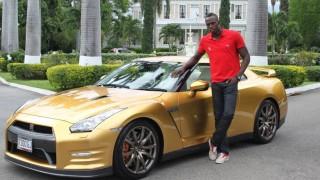 Usain Bolt gets gold Nissan GT-R