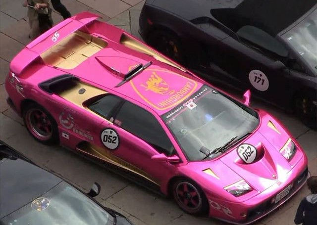 Eye Candy: Should a Lamborghini Diablo ever be painted this colour?