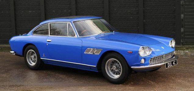 John Lennon's blue Ferrari <br>to hit the auction block
