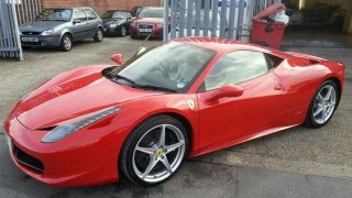 Ferrari detailing goes horribly awry