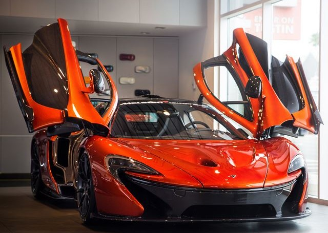 Win a ride in a McLaren P1