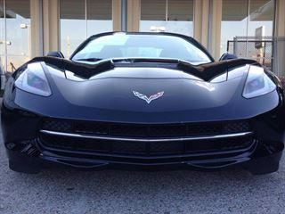 Girlfriend not exactly thrilled by gift of new C7 Stingray