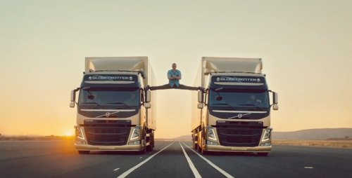 Insider Report: Watch Jean-Claude Van Damme defy the laws of everything