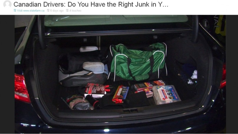 Canadians have all the wrong junk in their trunk