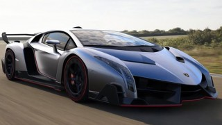 Special delivery: Stunning Lamborghini Veneno arrives at its new home