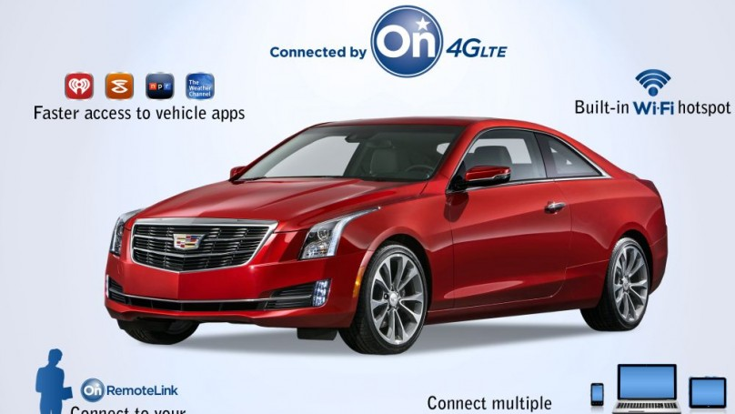 Connect in your Car with Cadillac Enhanced In-Vehicle Technology