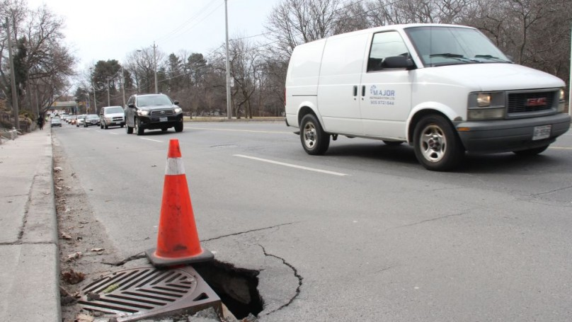 Caution: rough ride ahead-  All roads lead to potholes