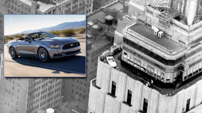 Ford to put the new 2015 Mustang atop the Empire State Building