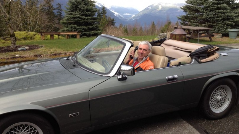Eye Candy: B.C. skydivers love drop-top Jag