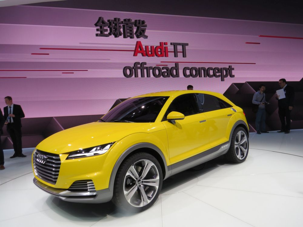 Auto China Show Electric A3 Here Next Year Wheels Ca