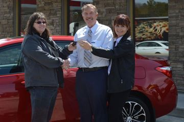 Coffee on a whim and roll up the rim wins car for Bracebridge woman