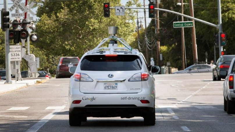 Self-driving cars hit city streets