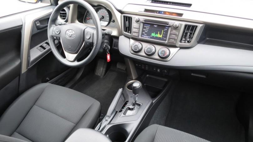 2014 Toyota RAV4 -Much more mature but still a bit noisy
