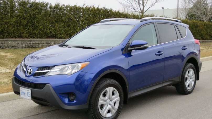 2014 Toyota RAV4 -Much more mature but still a bit noisy