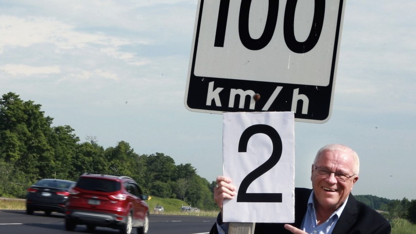 Review all speed limits, minister