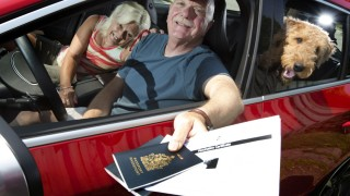 On the road with your dog -Certificate for rabies required by the U.S., microchip recommended