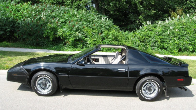 Eye Candy -The car: 1983 Pontiac Firebird
