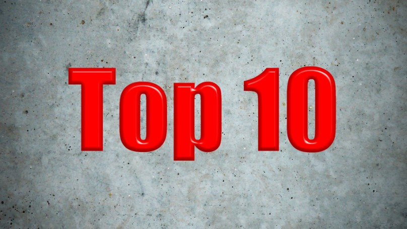 Top 10 concrete wall