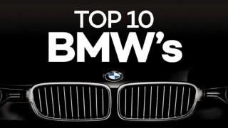 top 10 BMWs