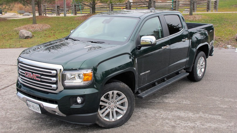 2016 gmc canyon diesel mid size pickup with full size. Black Bedroom Furniture Sets. Home Design Ideas