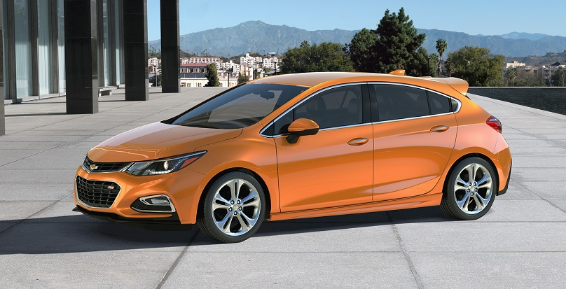 The 2017 Cruze Hatch