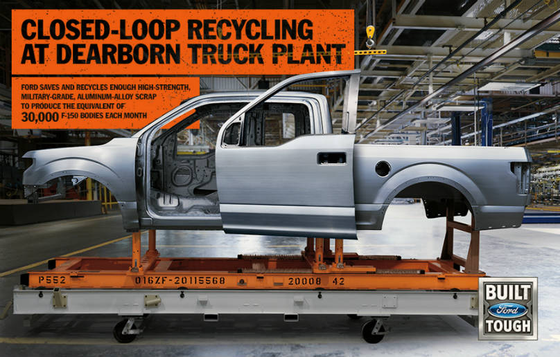 Ford Aluminum recycling