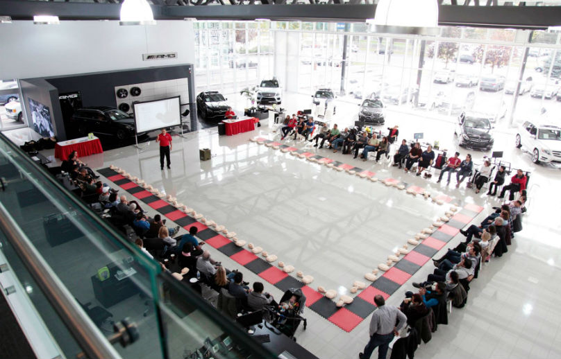 Mercedes CPR clinics