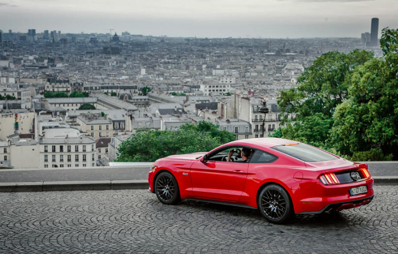 Mustang leads ponycar sales
