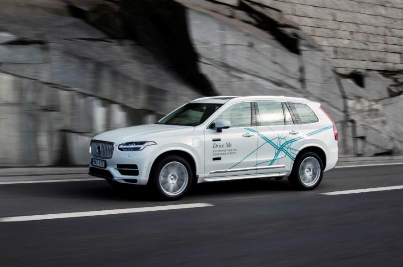 Volvo autonomous trial