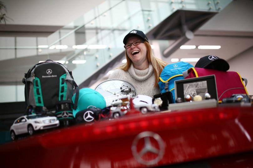 Mercedes-Benz, personal accessorie