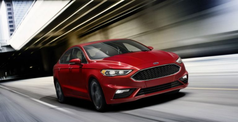 Ford fusion safety