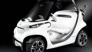 Mercedes golf cart