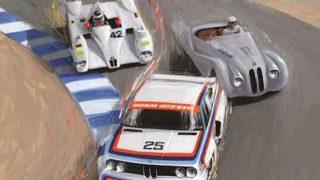 BMW Rolex poster