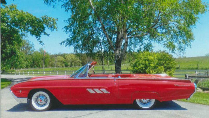 1963 Thunderbird convertible