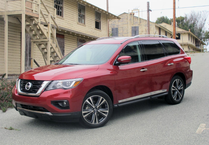 Nissan Pathfinder 2017 main2